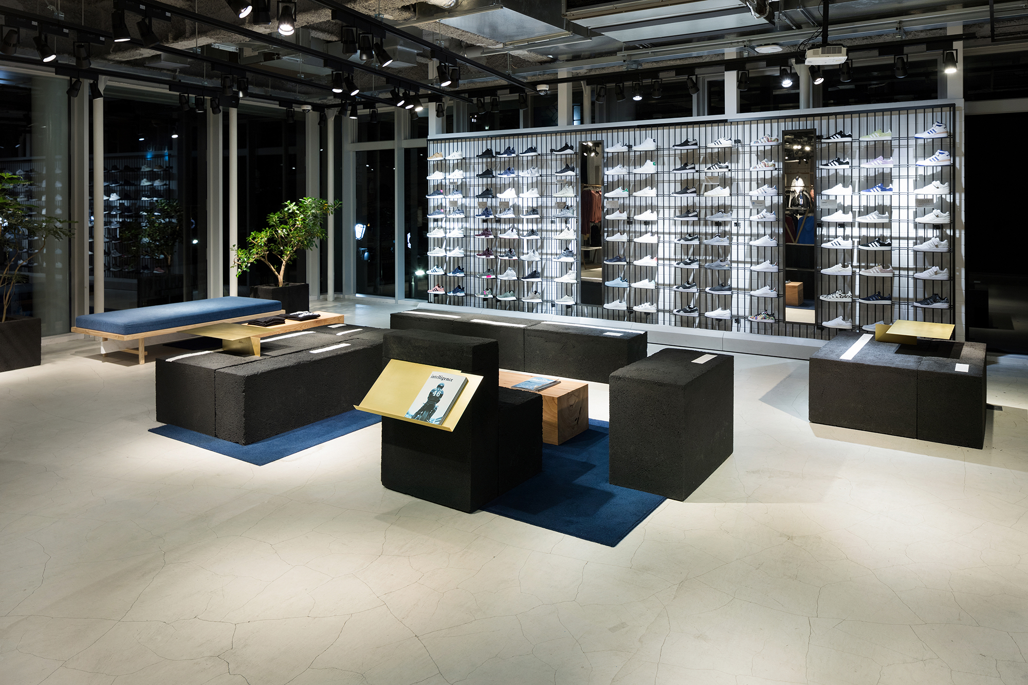 Social Lounge Of Adidas Originals Flagship Store Tokyo