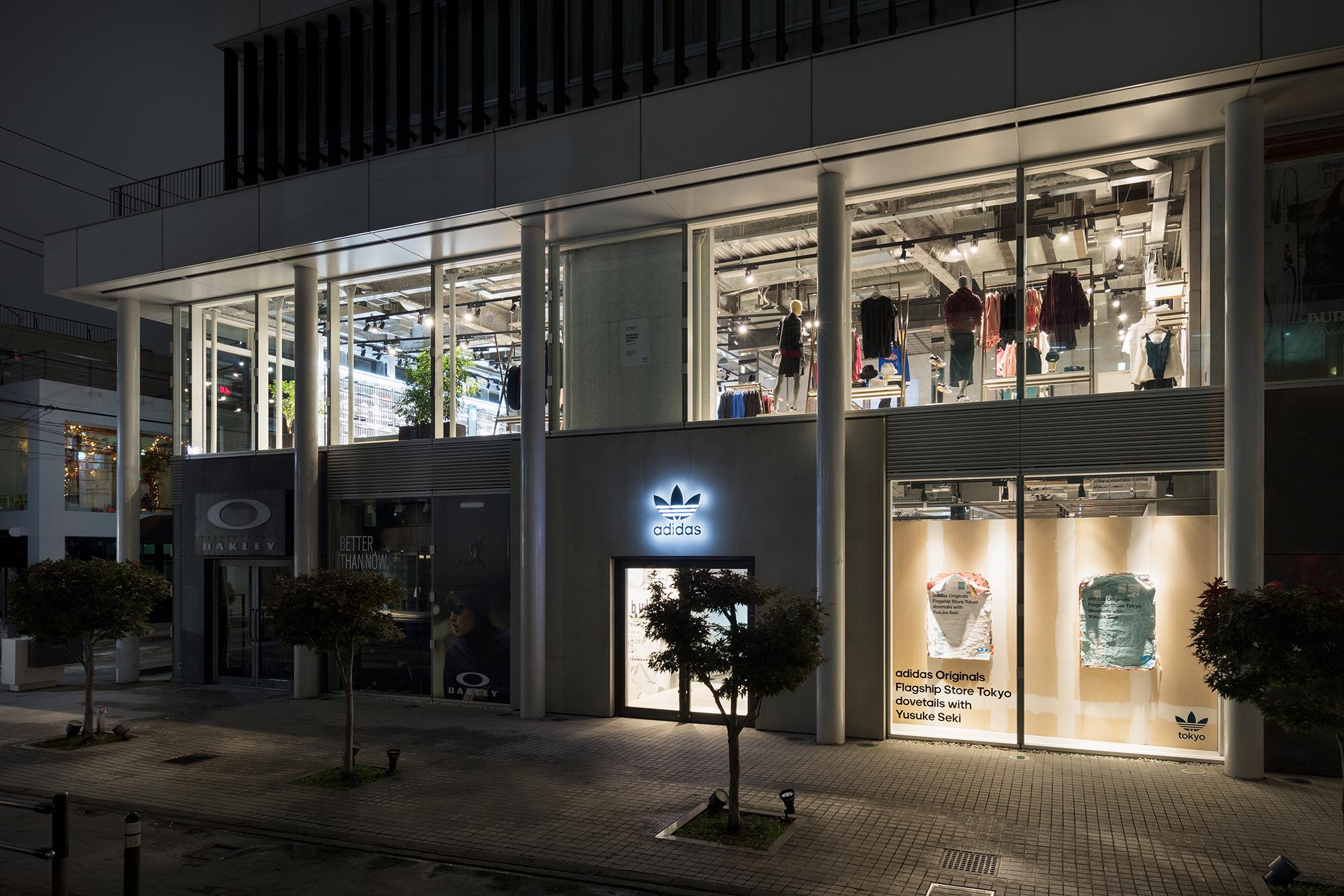 4f36e7273b Social lounge of adidas Originals Flagship Store Tokyo | Yusuke Seki